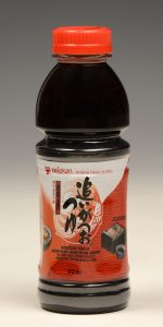 Soup Base Available in 16 and 32 oz. bottles. Soup Base is a traditional Japanese condiment made from soy sauce and bonito flavoring. Great as a soup for Japanese noodles like Udon, Soba or Soumen. It is a key ingredient for tempura sauce, Donburi (Japanese bowl dish) or Oden (Japanese pot dishes with surimi).